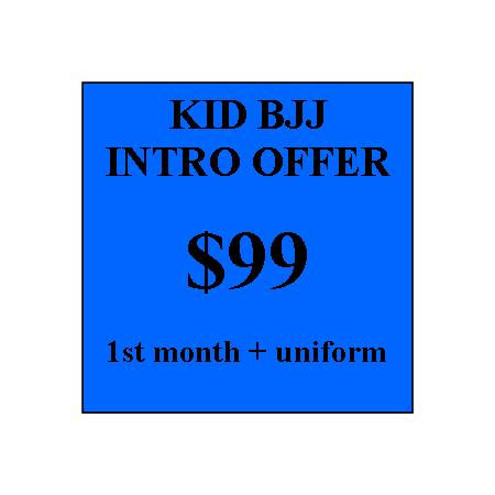 Kids BJJ Intro Offer