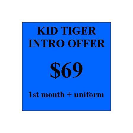 Kid Tiger Intro Offer