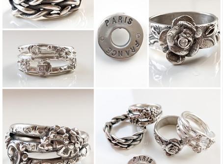 Resultaten Workshop zilveren sieraden maken 8 april 2019