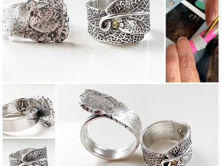 Persoonlijke zilveren sieraden zelf maken tijden een workshop
