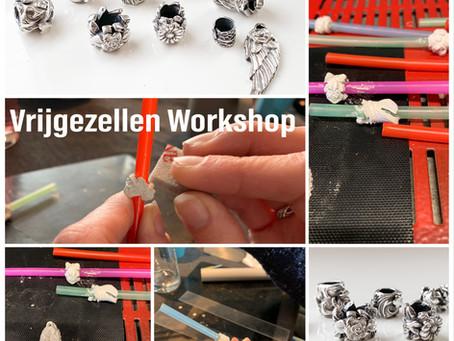 Vrijgezellenfeest Workshop; maak zilveren sieraden voor de bruid
