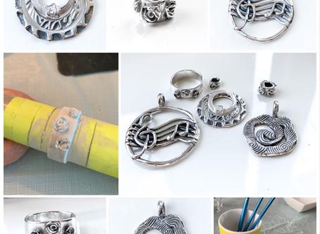 Zelf zilveren sieraden maken tijden een workshop met zilverklei