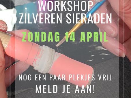 Zondag 14 april Basis Workshop, er zijn nog een paar plekjes vrij