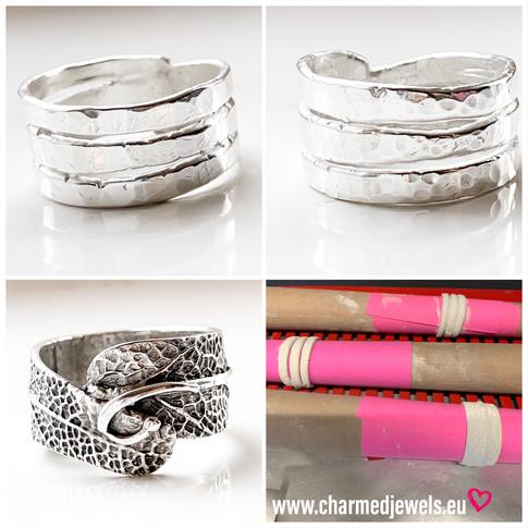 Voorbeelden workshop zilveren ringen.jpe