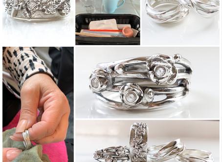 Workshop zilveren sieraden maken met zilverklei
