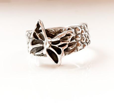 Zilverklei ring gemaakt door cursist.jpe