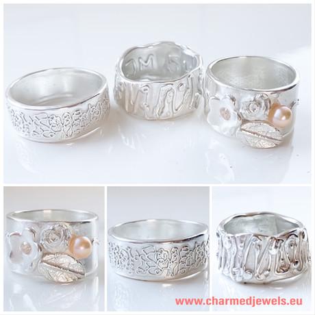 Sieraden workshop zilveren ringen maken.