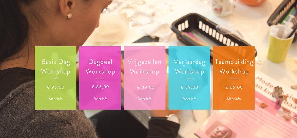 Zilveren sieraden, workshop, creatieve workshop, Sieraden workshop, Amsterdam, Amstelveen