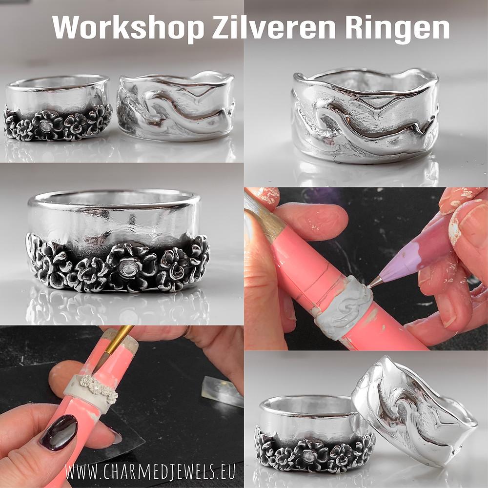 Art Clay Silver Workshop sieraden maken