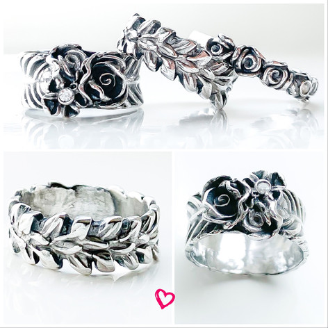 Voorbeelden ringen workshop zilverklei.j