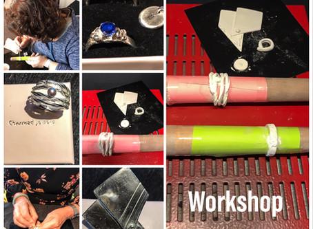 Resultaten Basis Workshop Zilveren Sieraden maken met Art Clay Silver