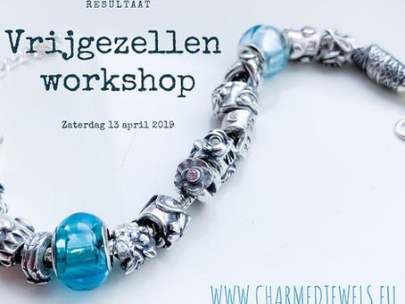 Vrijgezellen workshop; maak zilveren sieraden voor de bruid