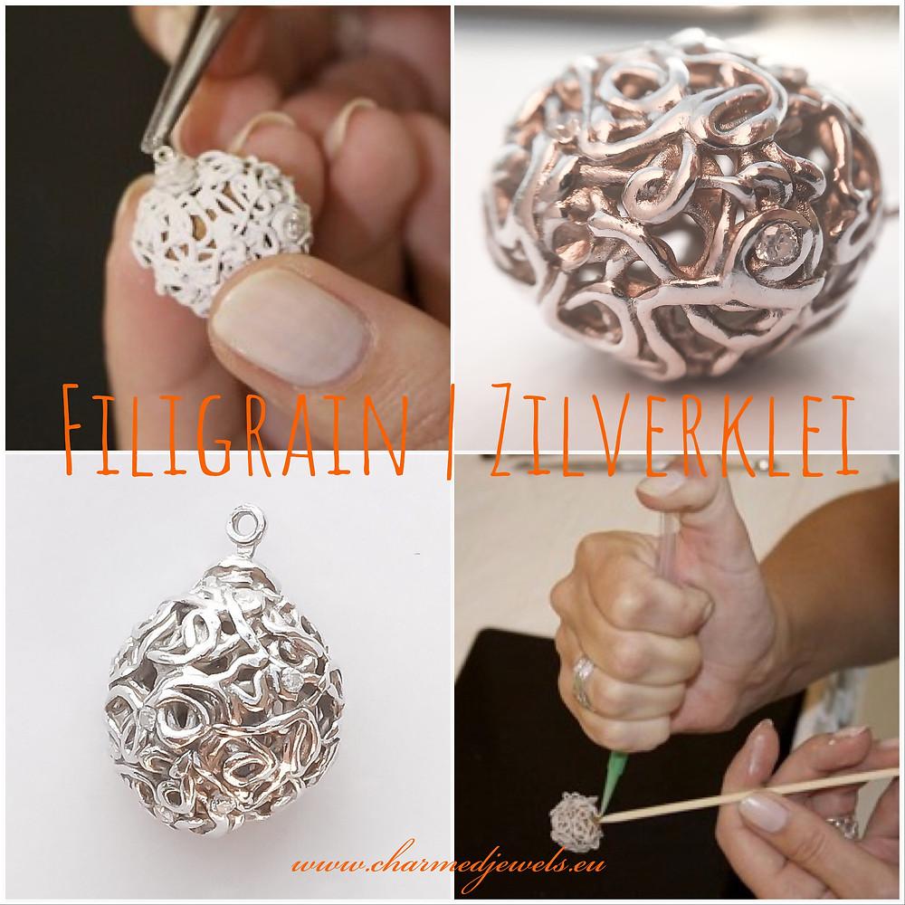 Workshop zilveren sieraden maken bij Charmed Jewels