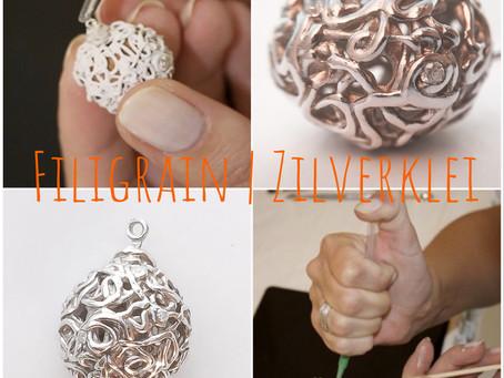 Filigrain sieraden maken met Zilverklei