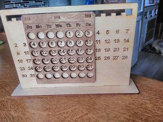 laser kalender
