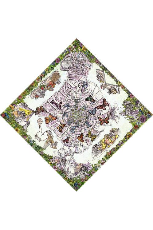 "Rotatable Art Print ""Rats' Picnic"" (Unframed)"