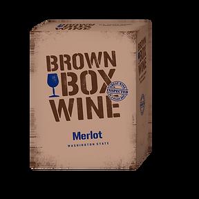 Brown Box - NEW - Product Shot - Merlot.