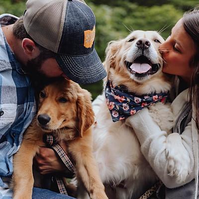 Puppy Portraits with Mya & Brody