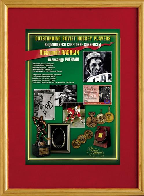Alexander Ragulin Outstanding Hockey Career Tribute 15x12 Frame