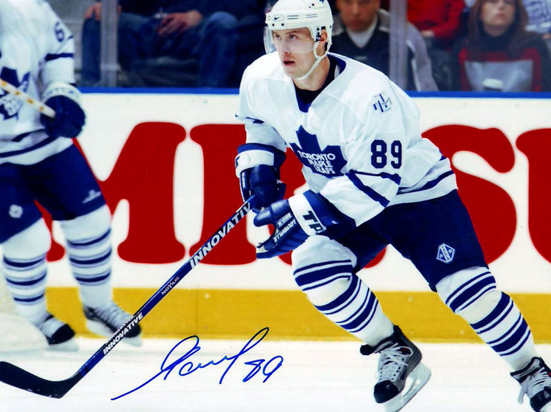 size 40 1c978 f984d Alexander Mogilny Toronto Maple Leafs Autographed 8x10 Photo