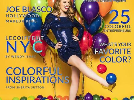 COLOR Fashion & Lifestyle Magazine Shoot