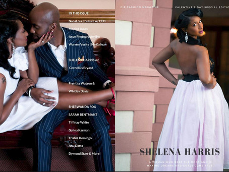 CIE Fashion Magazine NanaLola Couture Valentine's Day Special Edition Shoot