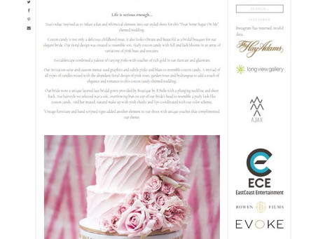 Spun For Love Feature by District Weddings