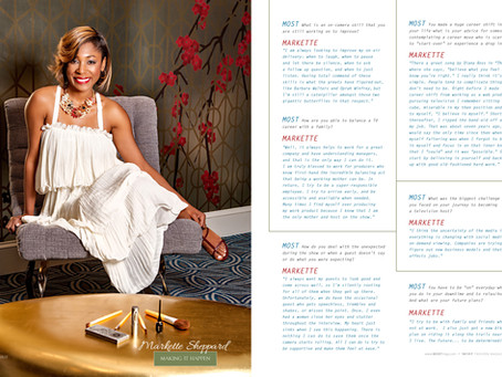 MOST Magazine Markette Sheppard Feature