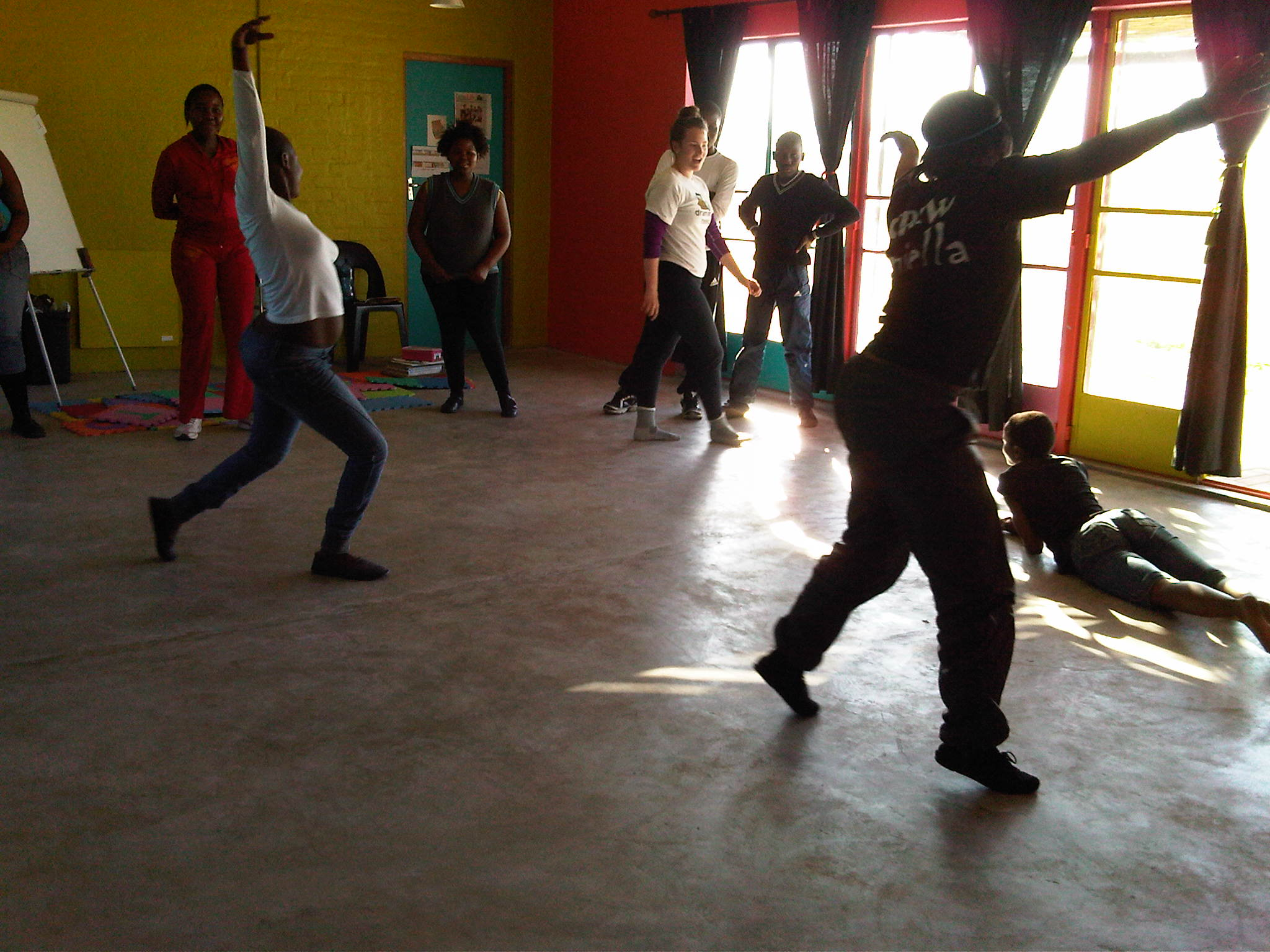 Dance workshop in our art center