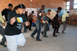 Dance workshop, South Africa