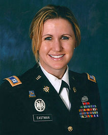 Marjorie K. Eastman in U.S. Army uniform.