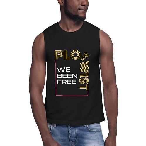 Plot Twist Gender Neutral Muscle Shirt