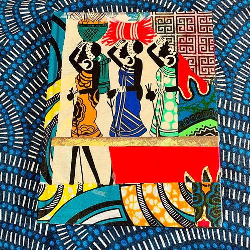 Upcycled Journal: Three Sisters