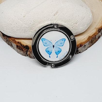 Accroche-sac - Papillon bleu