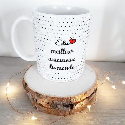 Mug Meilleur amoureux du monde