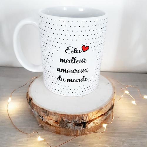 Mug Chats Amoureux à Paris Chez BEAUTÉ-MONDE