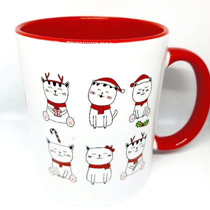 Mug Chats de Noel