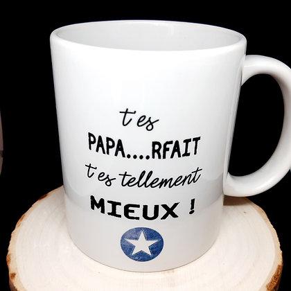 Mug Papa pas parfait...