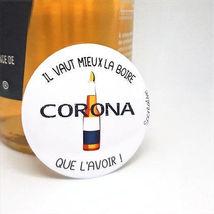 "Badge ""Corona..."""