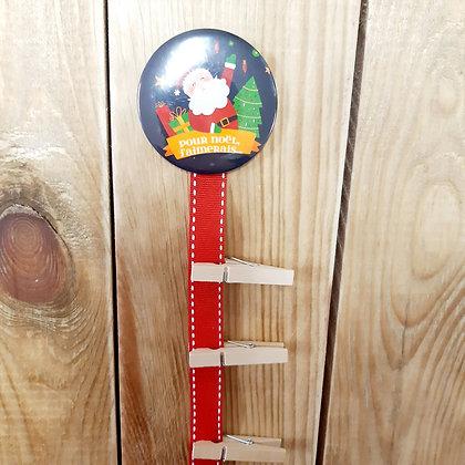 """Les magnets """"Ma liste au Père-Noël"""""""