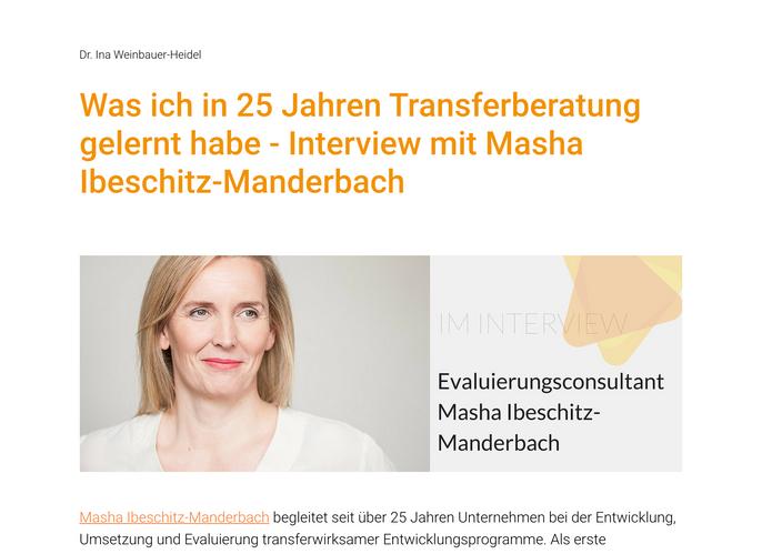 Masha Ibeschitz