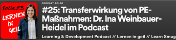Podcast interview with Dr. Ina Weinbauer-Heidel (german)
