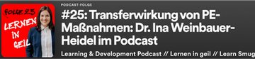 Podcast Interview mit Dr. Ina Weinbauer-Heidel