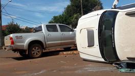 MARACAJU: Confira o vídeo do acidente de hoje no Bairro Jardim Guanabara