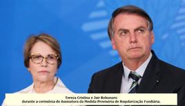 Bolsonaro cogita Tereza Cristina para presidência da Câmara dos Deputados, diz jornal