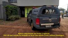 Com viatura na porta de agência, publicitário denuncia terrorismo eleitoral