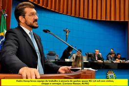Após flagra, deputado do PT em MS promete devolver gasto de R$ 1,7 mil com vinho e cerveja