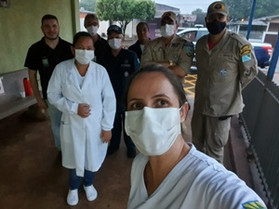 Maracaju recebeu nesta madrugada a vacina contra a Covid-19