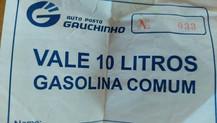 """MARACAJU: em dia de carreata de CALDERAN (PSDB), """"vale combustível"""" é publicado em rede so"""