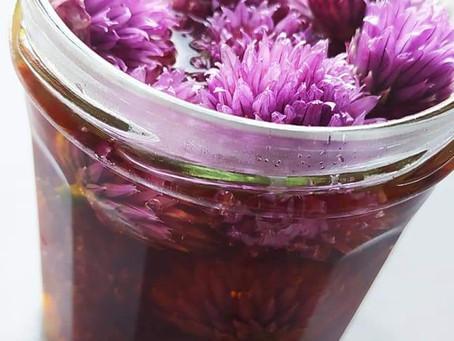 Vinaigre de fleurs de ciboulette